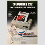 Integrex Colourjet 132 Advert March 1991