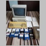 RM Nimbus PC-186 with manuals Monitor and disks