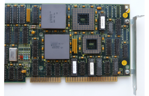 a80386DX-25 and a82385-25 on an RM Nimbus Board
